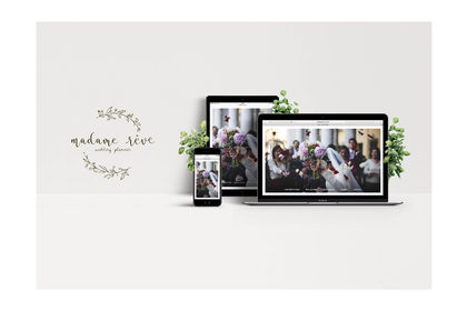 Web Design - Madame Reve, wedding planner