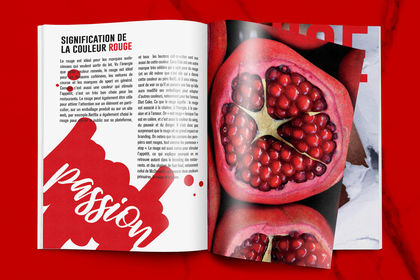 Magazine sur les couleurs