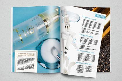Catalogue de produits de cosmétique