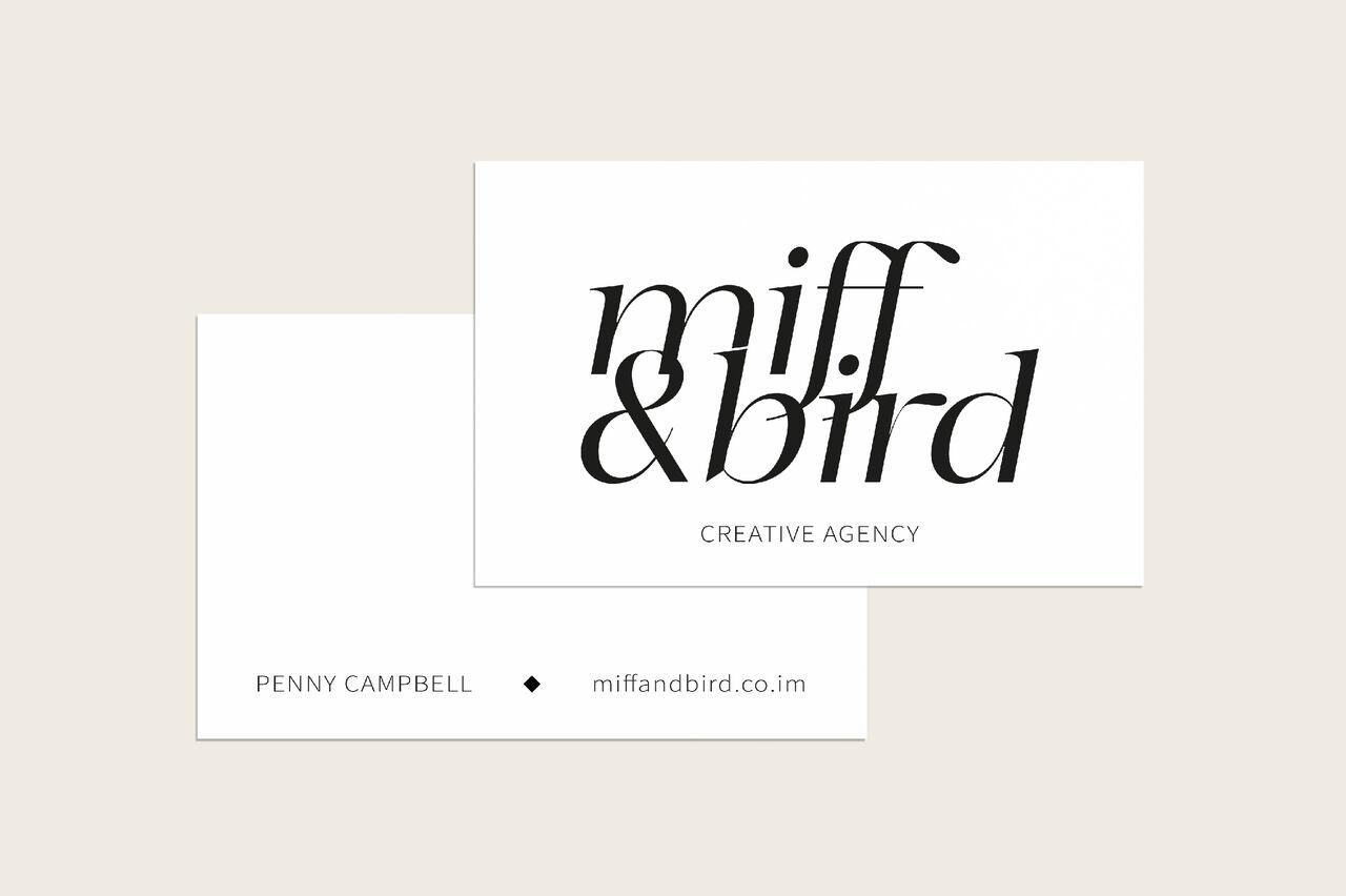 Logo pour le studio de création Miff&Bird