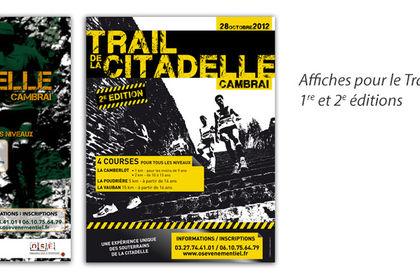 Affiche Trail de la citadelle