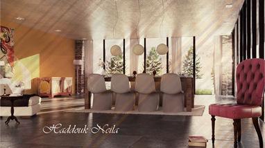 3d Intérieur Salon
