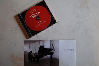 Booklet et design d'un CD de piano