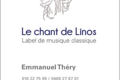 Carte de visite pour un label de musique classique