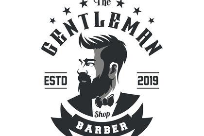 Logo pour barbier