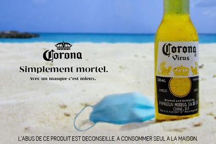 Publicité Corona