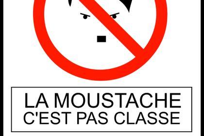 La moustache c'est pas classe