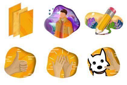 Illustrations réalisées pour le site Olycom