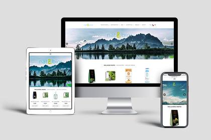 Site e-commerce Nat & Bio