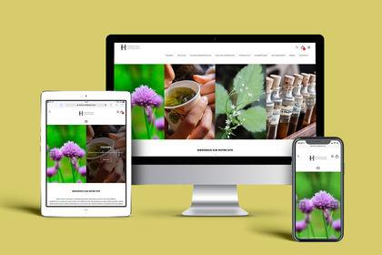 Site e-commerce Herboristerie