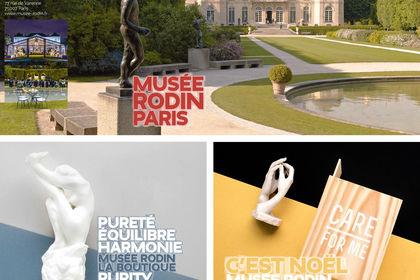 Déclinaison de l'identité du Musée Rodin
