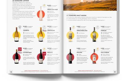 Catalogue Vins & Champagne