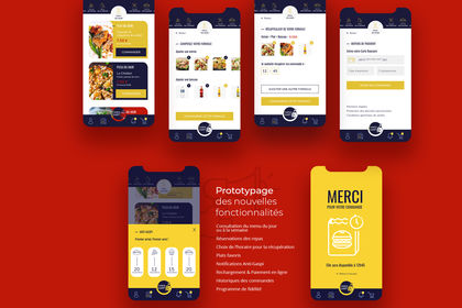 Application mobile - Campus Cafet'