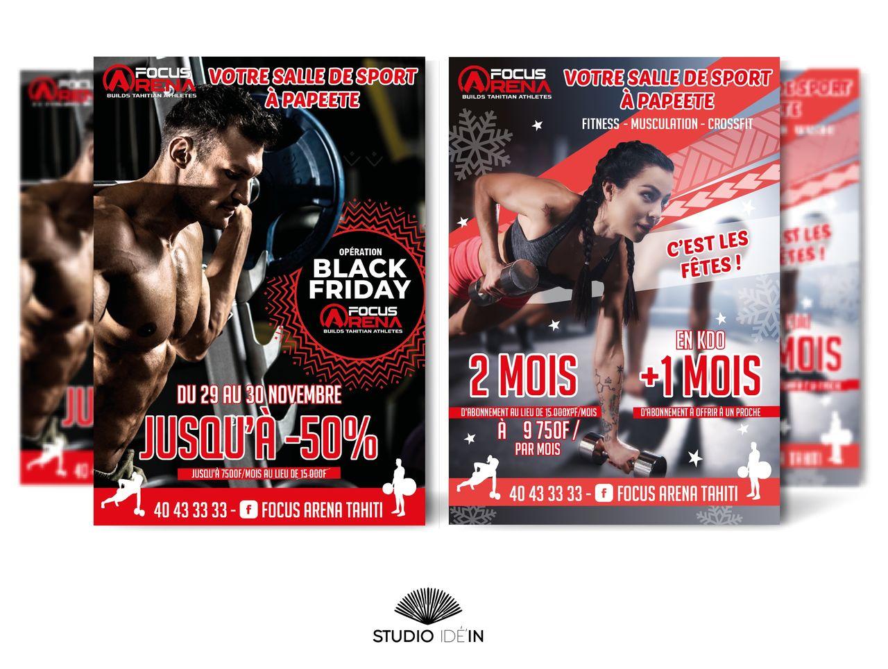 Affiche web Focus Arena