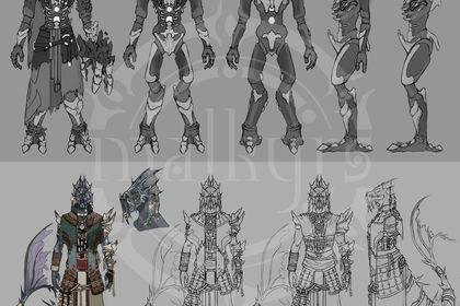 Character design - Malkyrs studio