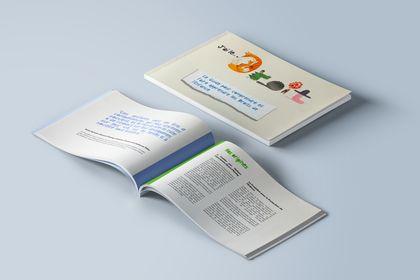 Mock-up livre Fondation pour l'Enfance
