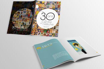 Les 30 ans du centre de l'affiche