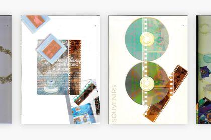 Série d'illustration collage - Piscine