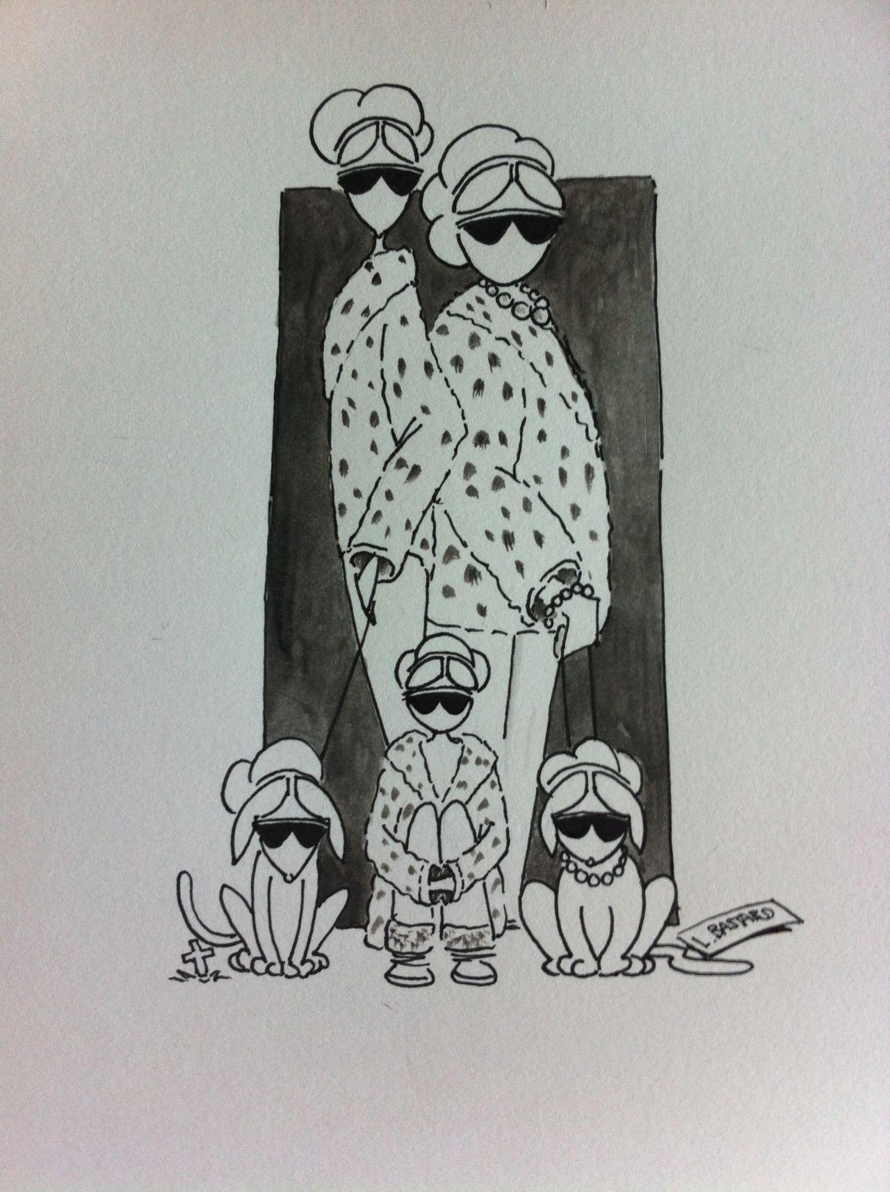 Illustration gouache