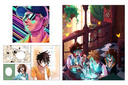 Selection d'illustrations personnelles