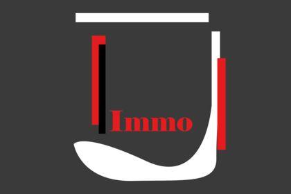 Logo conceptuel agence immo
