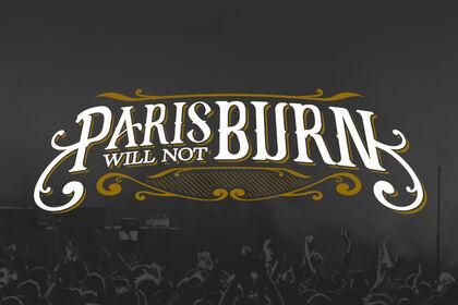 LOGO PARIS WILL NOT BURN