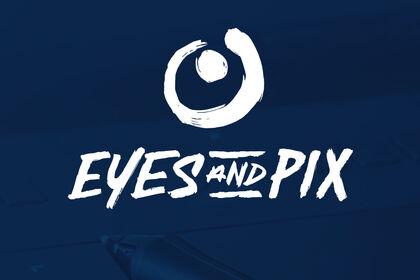 LOGO EYES AND PIX