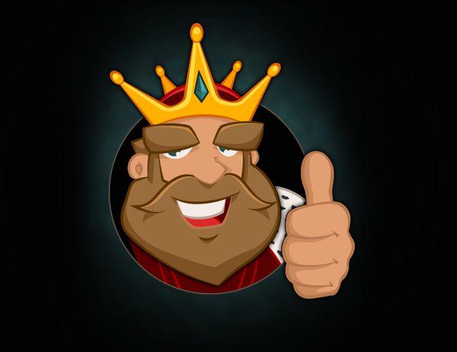 Mascotte KING-Ads