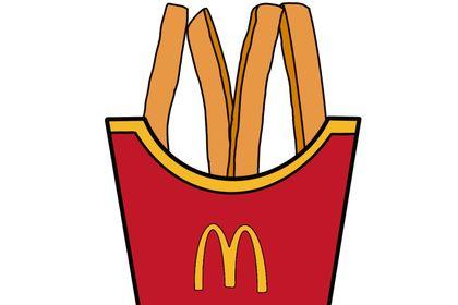 "Frite logo "" McDonald """