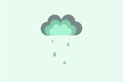 Nuage pluvieux
