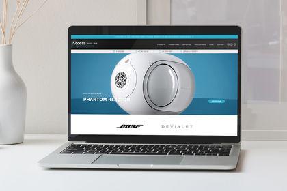 Web design / Boutique de matériel Vidéo & Son