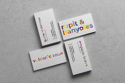 Cartes de visite + Logo