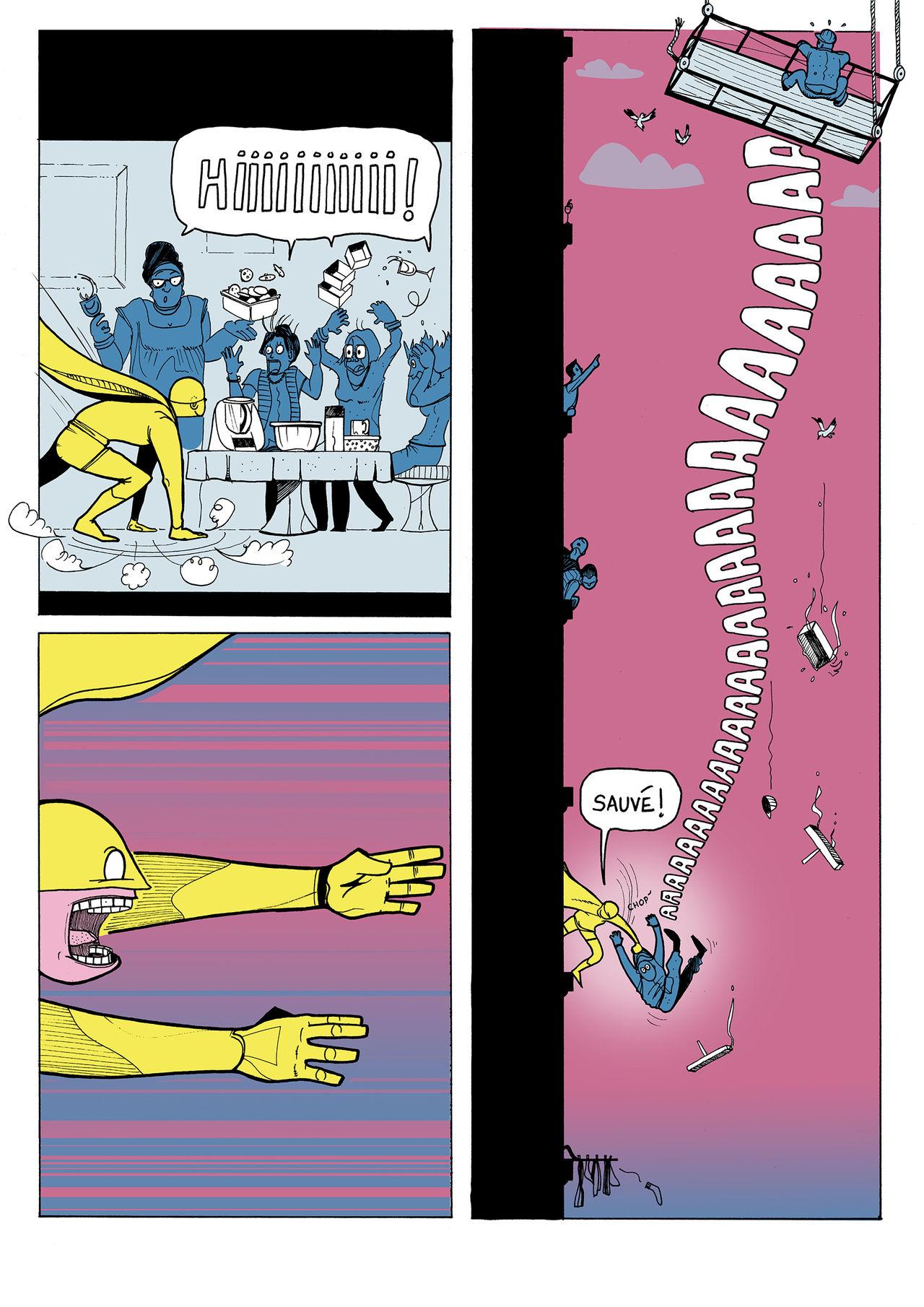 Un Super-Héro dans ma ville page 2