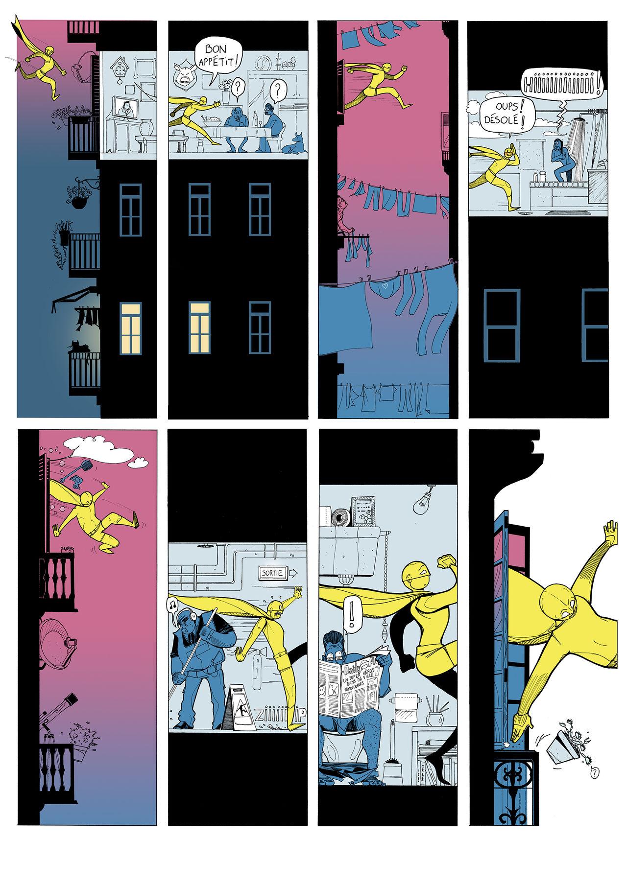 Un Super-Héro dans ma ville page 1