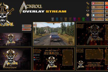 Overlay Twitch AckrouTv