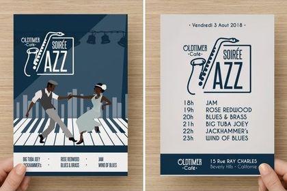 Flyer Illustré Jazz