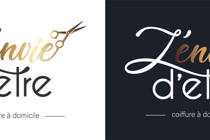 Logo coiffure (variations de couleur)