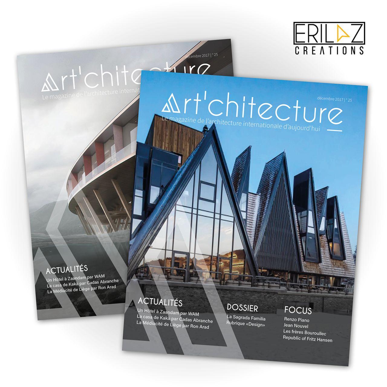 Mise en page Magazine d'Architecture