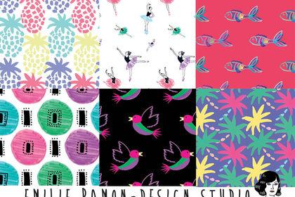 Motifs textiles