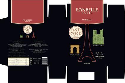 Packaging PASTA PARIS