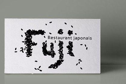 Carte de visite / identité visuelle FUJI