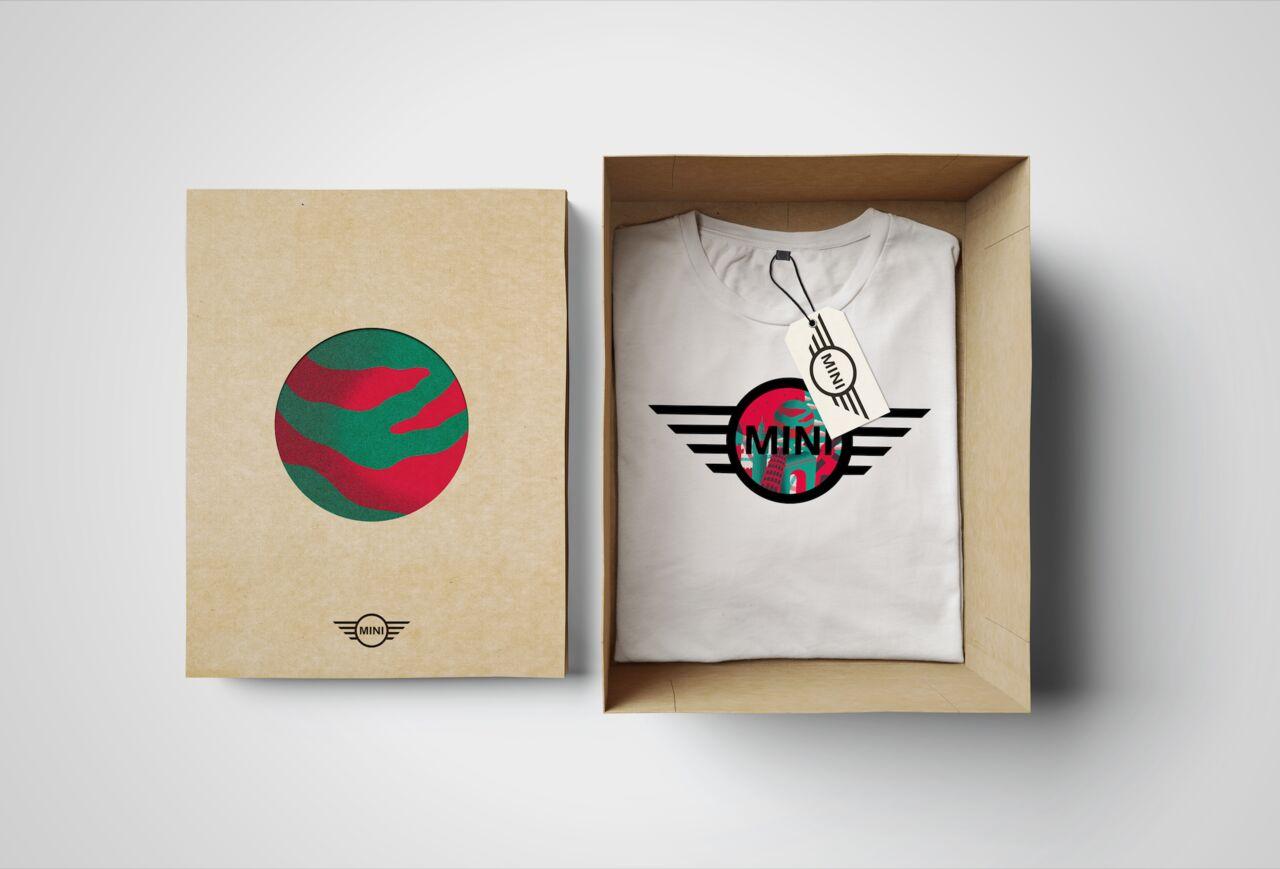 Packaging, Illustration et Print T-Shirt Mini