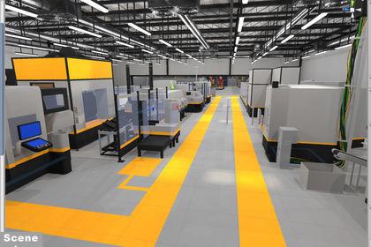 Scene industrielle d'integration VR