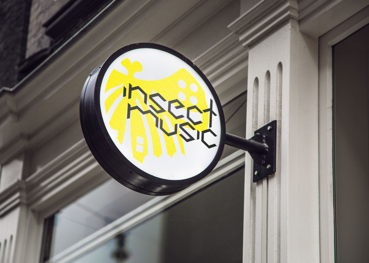 Logo Insect Music