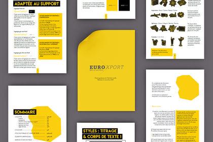 Charte graphique Euroxport