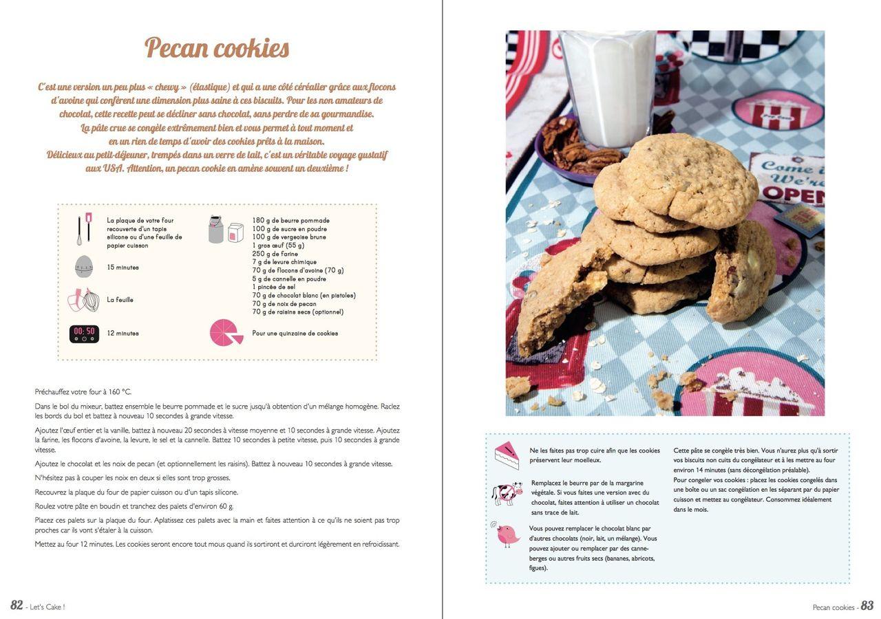 Let's Cake · Livre de recettes