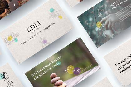 Création Powerpoint pour EDLI