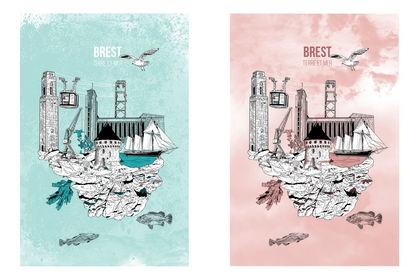 Brest, terre et mer