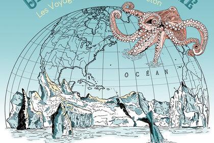 Affiche Jules Verne