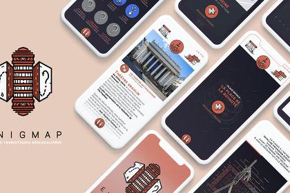 Enigmap | Direction Artistique